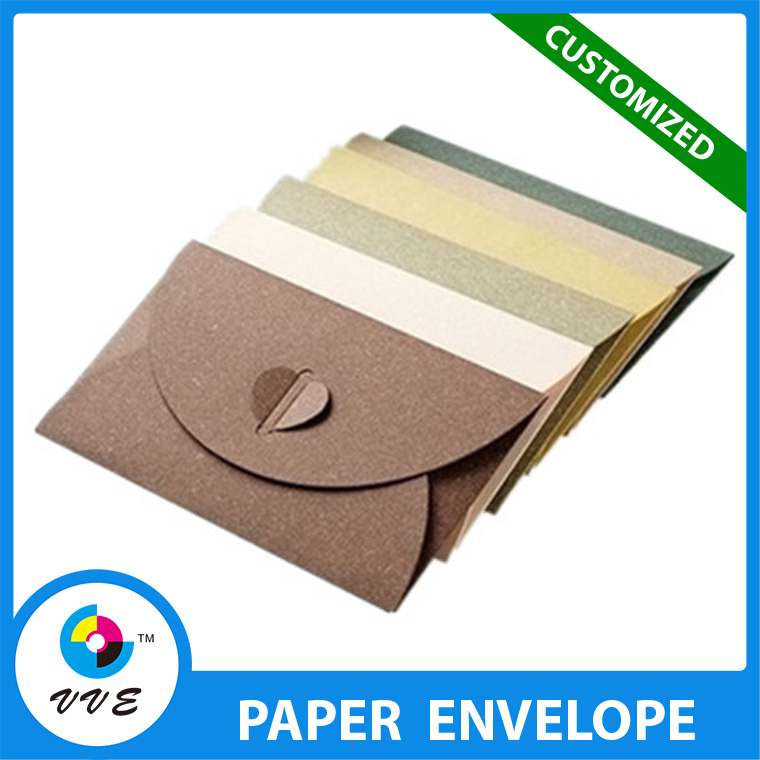 Customized Hotest Pearl Paper Envelope With Blank Surface