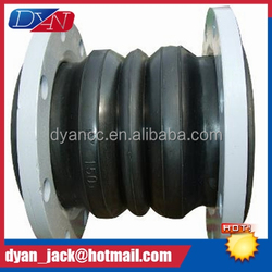 High quality Double Sphere rubber pipe joints for fire main
