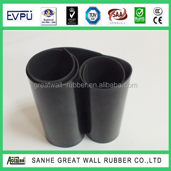 Factory promitional With Excellent Oil Resistant NBR vulcanized Rubber Sheet ISO Certification