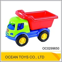 Outdoor pretend plastic sand truck beach toys for kids OC0299650