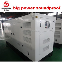 big power generator with different engine brand and 100%copper alternator
