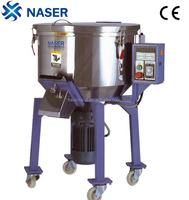 industrial heated plastic raw material mixer machine
