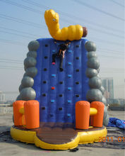 China 2012 New Design Inflatable Climbing Wall