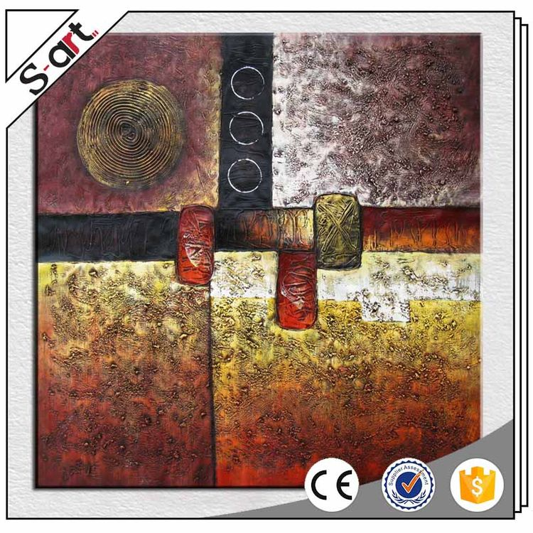 China wholesale best price modern abstract cow oil painting