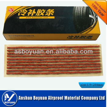 tire repair seal string 200*3.5mm brown