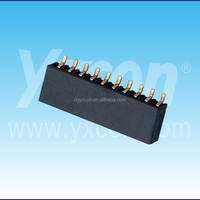 2.00mm pitch single row horizontal SMT / SMD made in China female header