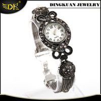 vintage bracelet watches antique silver jewelry stainles steel watches case back