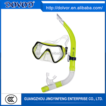 Diving & swimming use diving equipment plastic diving mask snorkel