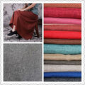 100% poly linen look/faux linen fabric for dress