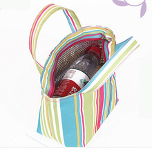 promotional lunch picnic shoulder thermal lined cooler bag