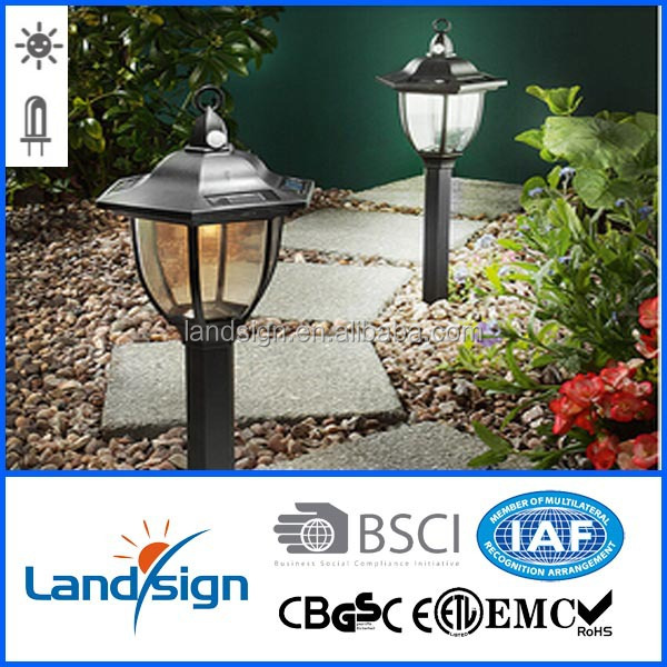 Cixi landisign infrared induction solar lawn light