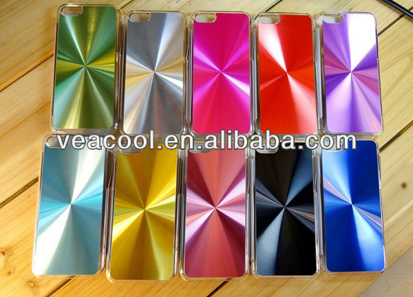 New CD Pattern Aluminum Metal Case Cover for Apple iPhone 5C Back Cover