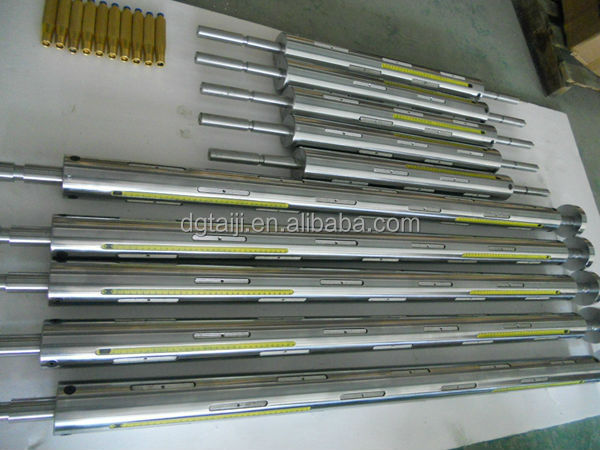 Plate type key type rewinding rewinder tramission seel air shaft