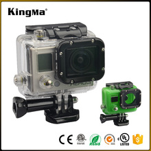 KingMa Hot Action Camera Accessories Skeleton Protective Housing without Lens for Gopro Hero 3+/3 Action Camera