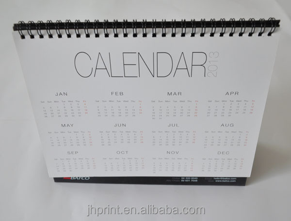 2015/2014 calendar offset printing service in China