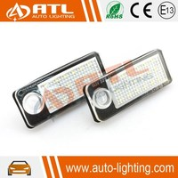 Factory supply no error led license plate lights for audi a6