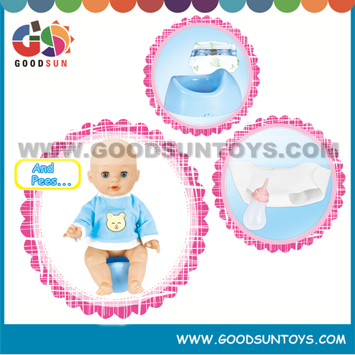14 Inch Silicone Baby Doll Wholesale