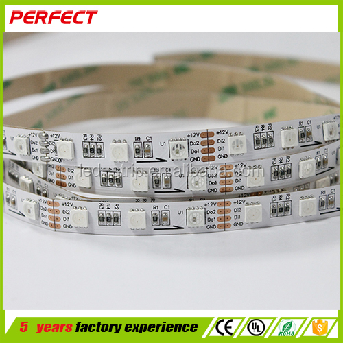 24V 365nm uv led strip smd 5050 dmx flexible led strip light with ce rohs ul