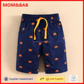 Design Crab Boys Pants Supplier 2015 Summer mom and bab Kids Clothing Wholesale