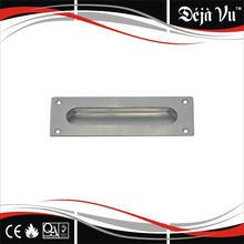 M009 furniture stainless steel recessed cabinet handle