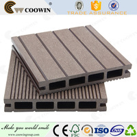 Outdoor construction material bamboo grooved Wooden composite floor