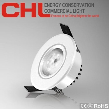 Guangdong high power 3w CE ROHS 170-265V ceiling light modern