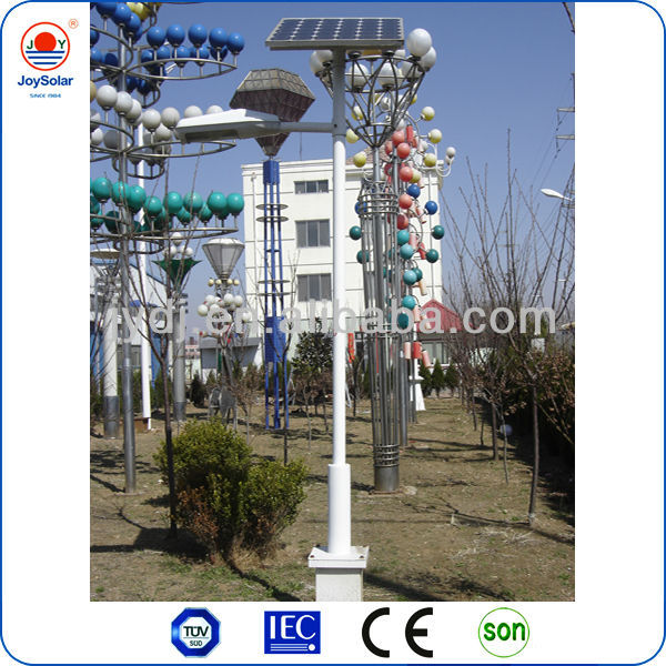 12v 10w 20w solar light garden light with garden light pole