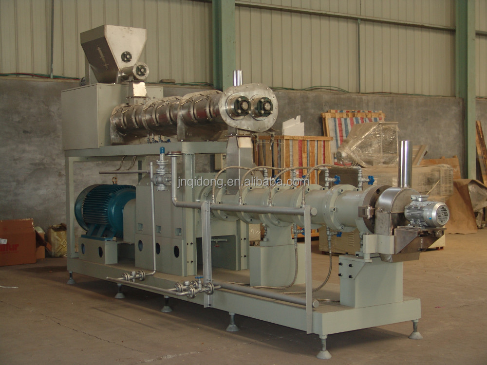05 Fish food processing/making machine with 1000kg/h