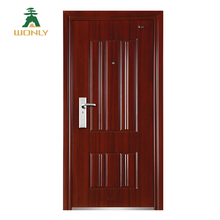 Chinese cheap exterior commercial single steel door