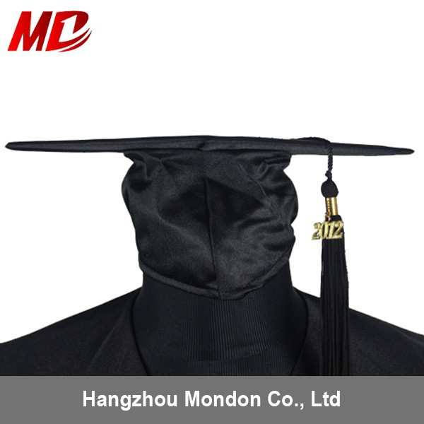 China factory Shiny Black church hats For men wholesale
