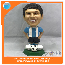 Custom Design Soccer Player Figure PVC Toys