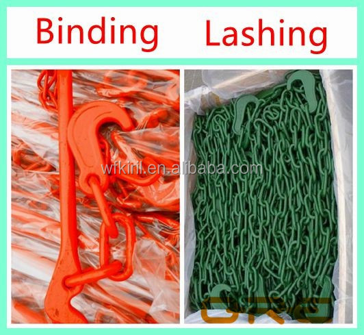 Welded binding color painted chain