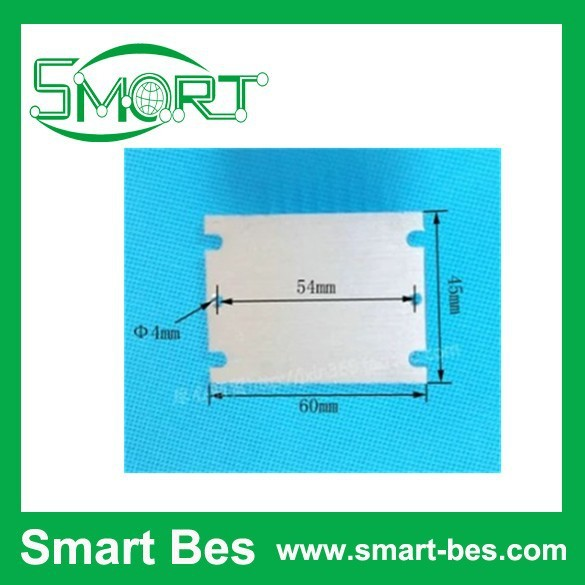 Smart Bes 60*45*25mm small aluminum block water cooler aluminum heatsink 6061aluminium profile aluminum radiator