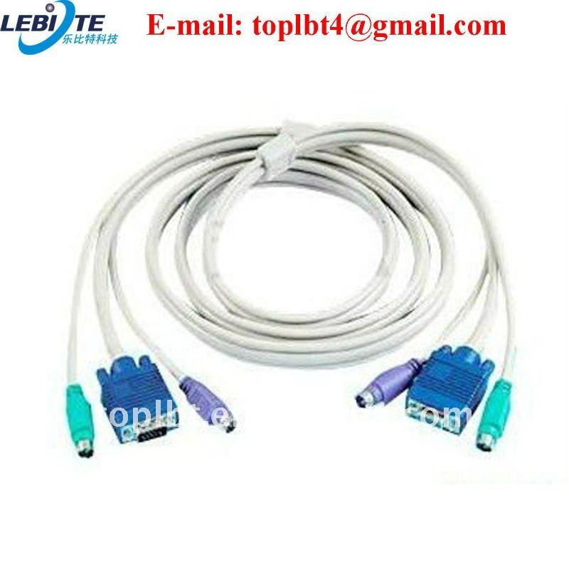 Good quality component to VGA Cable in White