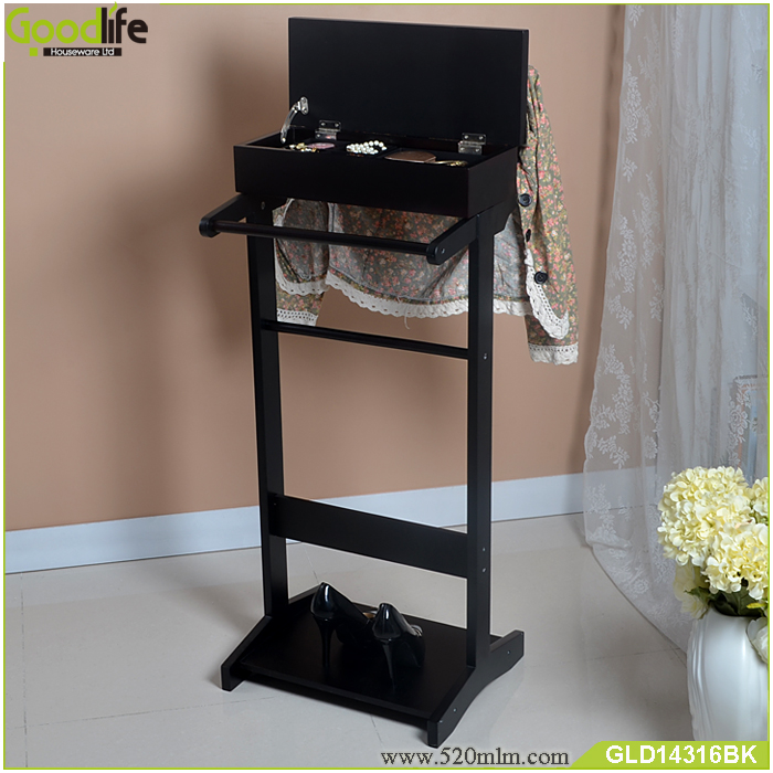 Bathroom furniture coat hanger stand women' wardrobe valet
