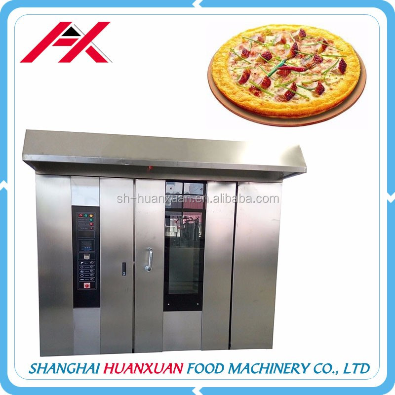 32 Trays Oven New Year Factory Price Hot Wind Rotary Commercial Bread Gas Oven