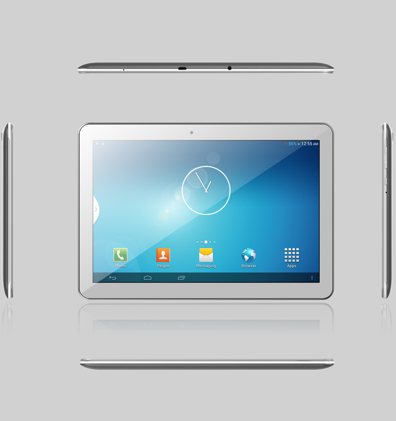 Cheap White Box Tablet Pc 10 Inch MTK8321 Android Tablet with Flashlight