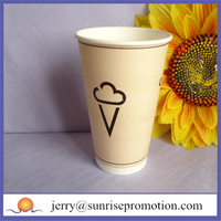 Wholesale large beverage paper cup coffee cups