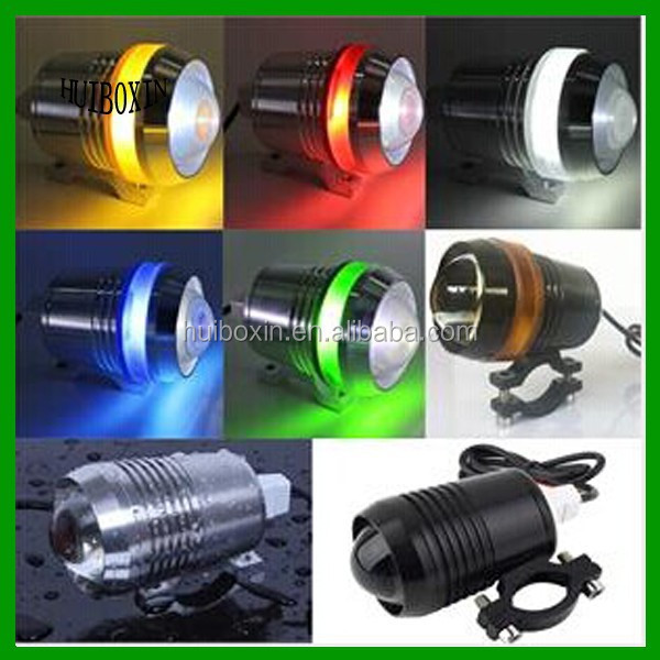 Universal Motorcycle Car Cre <strong>U2</strong> LED 1200LM Headlight Spot Fog Head <strong>Lamp</strong> Silver