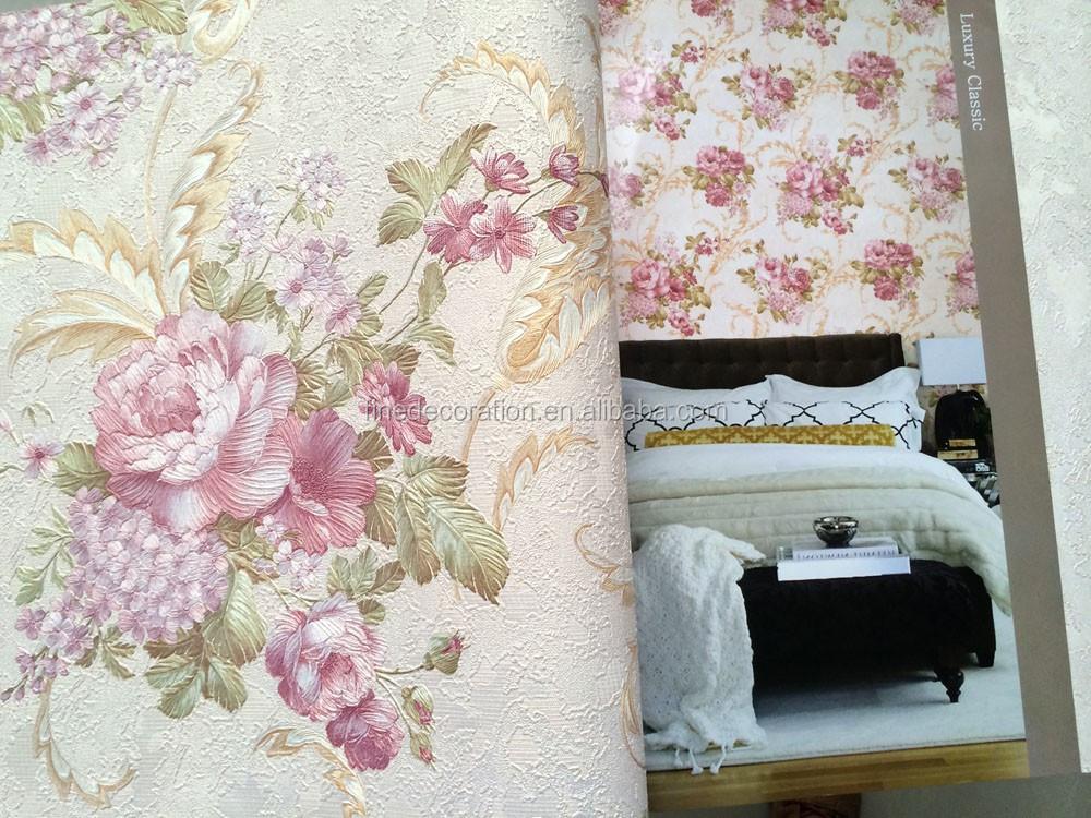 Fiore in rilievo rivestimento murale decorazione della parete ...