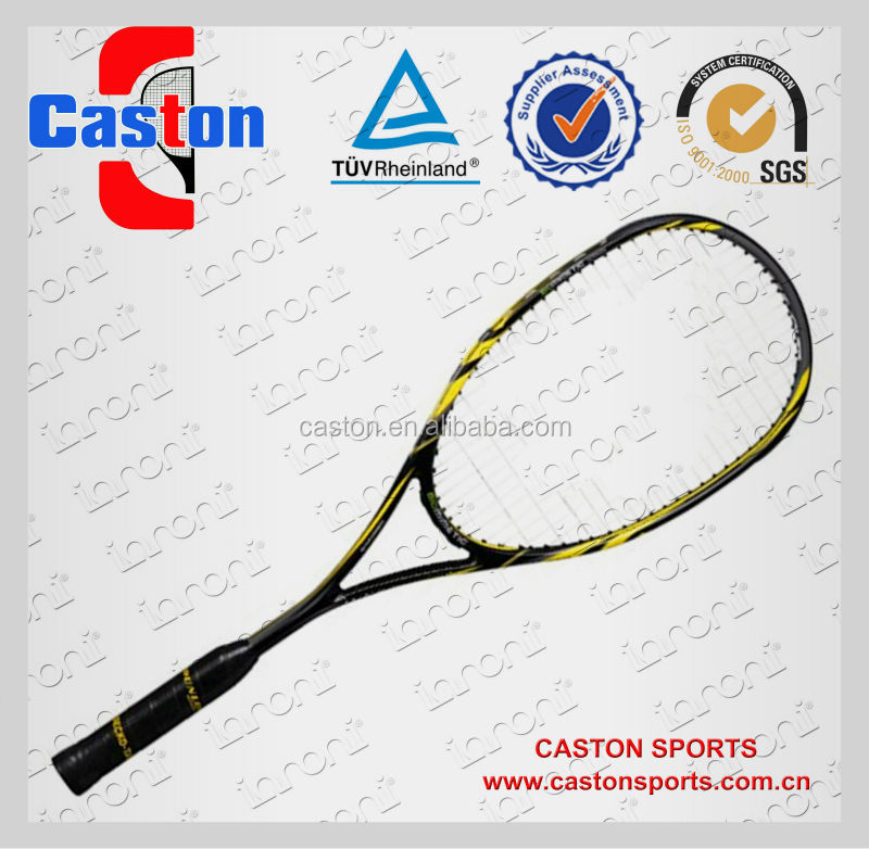 Squash tennis racket fast ball for custom