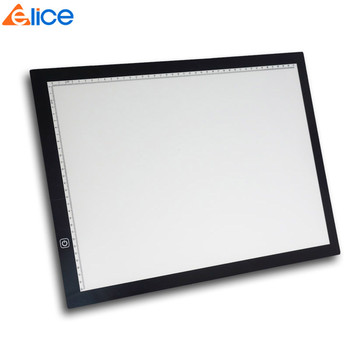 Cheap Good A3 Graphic Artcraft CopyBoard LED Light Box Light Pad Optical Portable Stepless Adjustable Tracing Tablet for Drawing