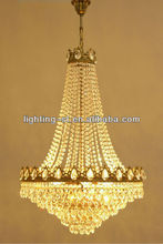 Antique French Style Crystal Chandelier Classic Large Lighting Huge Lustre Lamp ST05241