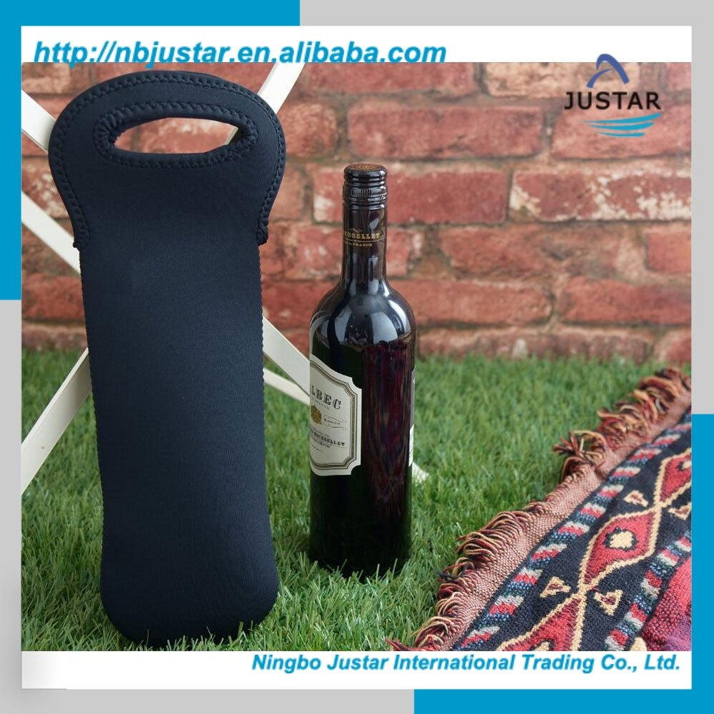 One Bottle Tote Thermal Neoprene Bottle Wine Cooler Bag