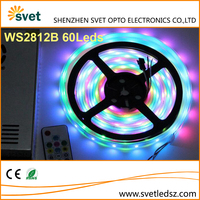 SMD5050 WS2812B Led Digital Light Strip DC5V Buit-in IC RGB Full Color Changing
