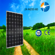 Monocrystalline silicon high power effciency 250w solar cell/ solar panel price