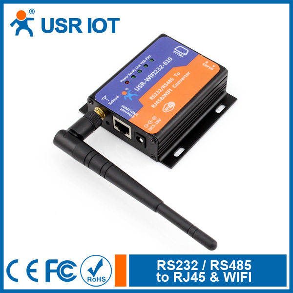 WiFi to rj45 converters Serial RS232 RS485 WiFi Device Servers Wireless 802.11b n g with HTTPD Client AP STA