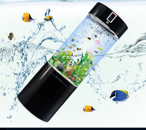 Acrylic Indoor Fish aquarium tank,cylinder fish aquarium