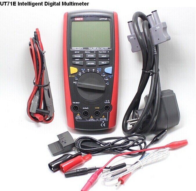 UNI-T UT71E Intelligent LCD Digital Multimeter With USB Interface Frequency Tester Meter power 2500W USB true RMS