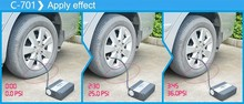 High quality 12v air pump inflating car air inflator pump AC DC 12 volt air compressors digital tyre inflator